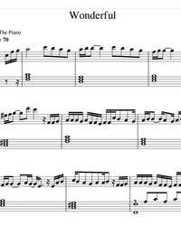 Sheet music and midi files for piano. Wonderful.