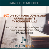 Exclusive promo code for piano players on Record Store Day