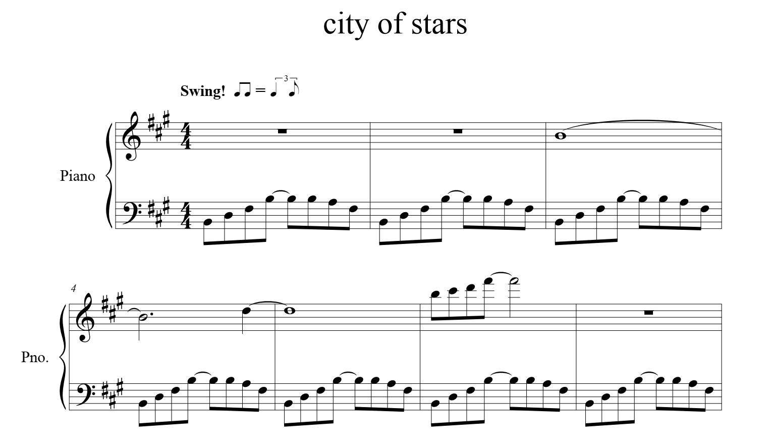 City Of Stars (Ost La La Land) - Justin Hurwitz